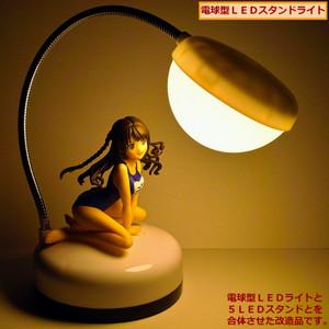 電球型LEDライトと5LEDスタンドとを合体