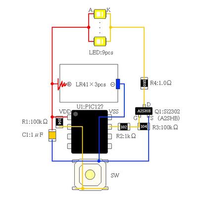 Selfled_circuit